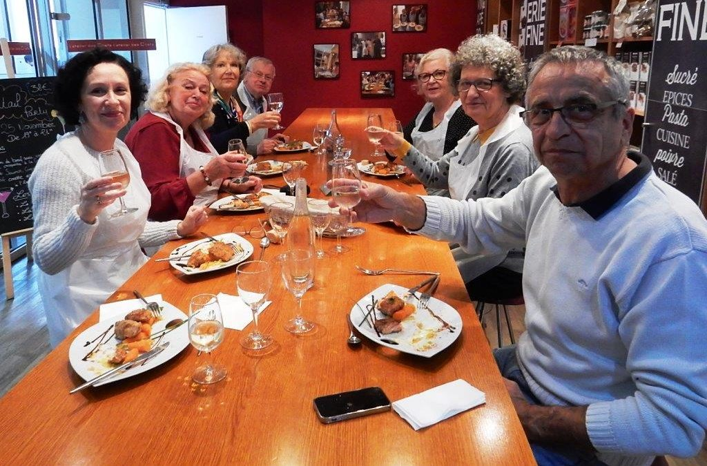 ICB's Moveable Feast at L'Atelier des Chefs