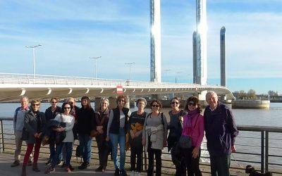 ICB walks the two bridges in Bordeaux