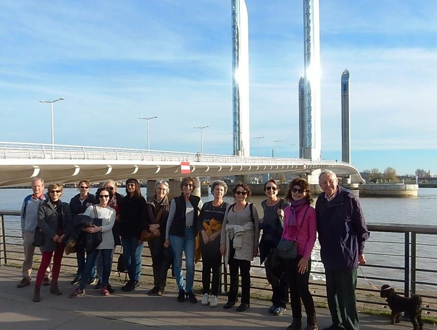 ICB walks the two bridges in Bordeaux