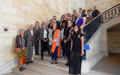 ICB/BACI reception at the Mairie de Bordeaux