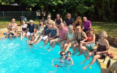 Kicking-off the summer season with the ICB's annual family pool party