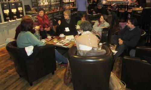 The ICB Reading Café